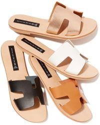 fe108ce892d Lyst - Women s Steven by Steve Madden Flat sandals Online Sale