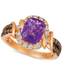 Le Vian - ® Nudetm Grape Amethysttm (1-3/4 Ct. T.w.) & Diamond (5/8 Ct. T.w.) Ring In 14k Rose Gold - Lyst