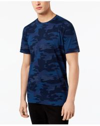 American Rag - Camo T-shirt, Created For Macy's - Lyst