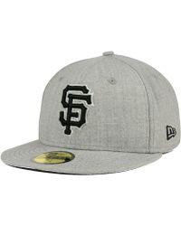 san francisco e0bd5 0227f KTZ San Francisco Giants C-dub 9fifty Snapback Cap in Blue for Men - Lyst