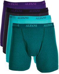 Alfani - 4-pk. Cotton Boxer Briefs, Created For Macy's - Lyst