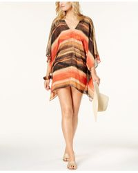 Carmen Marc Valvo - Pacific Sunset Caftan Cover-up - Lyst