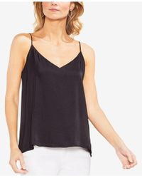 Vince Camuto - Hammered Lace-up Camisole Top - Lyst
