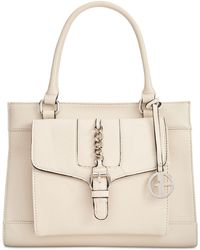 Giani Bernini - Pebble Leather Satchel, Created For Macy's - Lyst