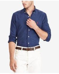 Polo Ralph Lauren - Men's Slim-fit Oxford Shirt - Lyst