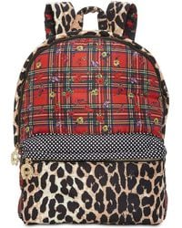 Betsey Johnson - Mixed-print Backpack - Lyst
