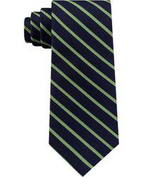 Tommy Hilfiger - Exotic Stripe Silk Tie - Lyst