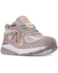 New Balance - 990 V4 Running Sneakers From Finish Line - Lyst