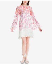 Max Studio - Ruffled-trim Dress, Created For Macy's - Lyst