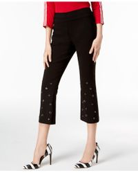 INC International Concepts - I.n.c. Embellished Crop-leg Pants, Created For Macy's - Lyst