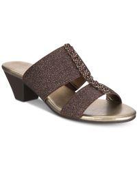 Karen Scott - Zaila Slip-on Sandals, Created For Macy's - Lyst