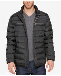 Cole Haan - Men's Quilted Zip-front Jacket - Lyst