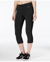 Nike - Dri-fit Capri Leggings - Lyst