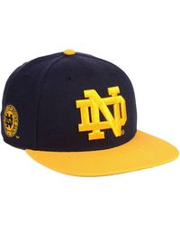 newest collection de653 eee0f 47 Brand - Notre Dame Fighting Irish Sure Shot 2 Tone Captain Snapback Cap  - Lyst