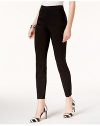 INC International Concepts - Pull-on Seamed Skinny Pants - Lyst