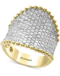 Effy Collection - Diamond Pavé Cluster Ring (2-1/2 Ct. T.w.) In 14k Gold - Lyst