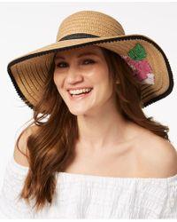 Betsey Johnson - Flowerista Hat - Lyst