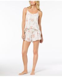 Linea Donatella - Day Dream Floral-print Pyjama Short Set - Lyst