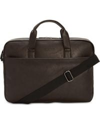 Kenneth Cole Reaction - Slim Faux-leather Briefcase - Lyst