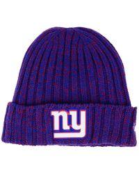 buy online d29e6 45785 KTZ Denver Broncos On Field Knit Hat in Orange - Lyst