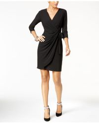 INC International Concepts - Wrap Dress - Lyst