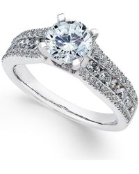 Macy's - Certified Diamond Engagement Ring (1-3/4 Ct. T.w.) In 18k White Gold - Lyst