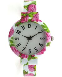 Olivia Pratt - Floral Bangle Watch - Lyst