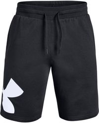 "Under Armour - Fleece Logo 10"" Shorts - Lyst"