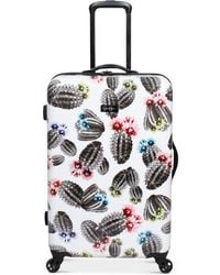 """Jessica Simpson - Cactus Printed 25"""" Hardside Spinner Suitcase - Lyst"""