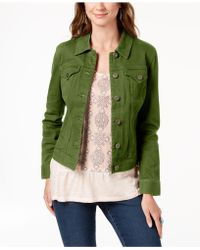 Style & Co. - Denim Jacket, Created For Macy's - Lyst