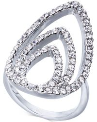 INC International Concepts - Silver-tone Crystal Triple-teardrop Ring, Created For Macy's - Lyst