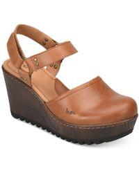 b.ø.c. - Rina Wedge Shoes - Lyst
