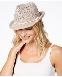 INC International Concepts - I.n.c. Crochet Packable Fedora, Created For Macy's - Lyst