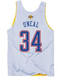 Mitchell & Ness - Shaquille O'neal Nba All Star 2004 Reversible Tank - Lyst