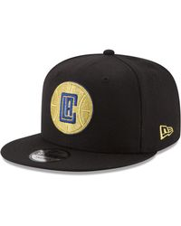 brand new 9b068 a6da6 KTZ Philadelphia Eagles Black Metallic Gold 9fifty Snapback Cap in Black  for Men - Lyst