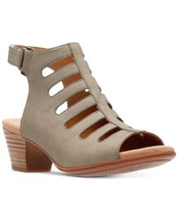 Clarks - Valarie Shelly Dress Sandals - Lyst