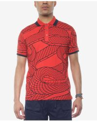Sean John - Printed Polo, Created For Macy's - Lyst