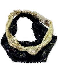 Guess - 2-pc. Set Sequined Headwraps - Lyst