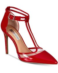 INC International Concepts - I.n.c. Kaeley T-strap Pumps, Created For Macy's - Lyst