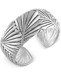 Effy Collection - Effy Balissima Diamond Bangle Bracelet (1/2 Ct. T.w.) In Sterling Silver - Lyst