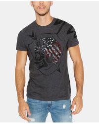 Buffalo David Bitton - Heather Graphic T-shirt - Lyst