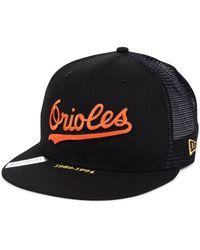 purchase cheap 70e63 2c1b0 KTZ Baltimore Orioles Camo Spec 9fifty Snapback Cap in Green for Men - Lyst