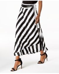 INC International Concepts - I.n.c. Petite Striped Wrap Maxi Skirt, Created For Macy's - Lyst
