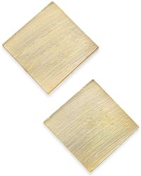 INC International Concepts - I.n.c Gold-tone Square Stud Earrings, Created For Macy's - Lyst