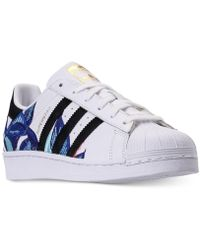 adidas - Superstar Casual Sneakers From Finish Line - Lyst