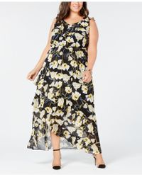 INC International Concepts - I.n.c. Plus Size High-low Maxi Dress, Created For Macy's - Lyst
