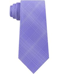 Kenneth Cole - Tyler Classic Plaid Tie - Lyst