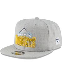best service 2dc33 c006f KTZ - Denver Nuggets Logo Trace 9fifty Snapback Cap - Lyst