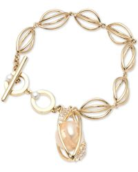 Carolee - Single Row Flex Bracelet - Lyst