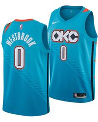 ce177bd41 Nike - Russell Westbrook Oklahoma City Thunder City Swingman Jersey 2018 -  Lyst